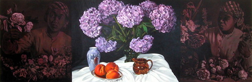 Still Life After Bazille