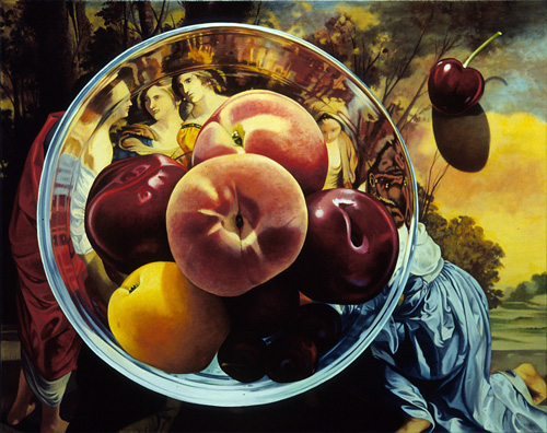 Fruit Bowl After Orazio Gentileschi
