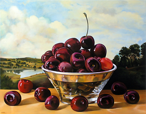 Cherries After Constable