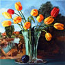 Yellow Tulips After Constable