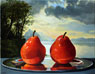 Red Pear After Bierstadt