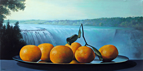 Tangerines with Falls