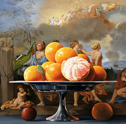 Tangerines with Dancers