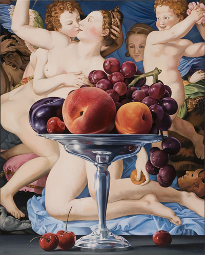 Still Life with Venus and Cupid