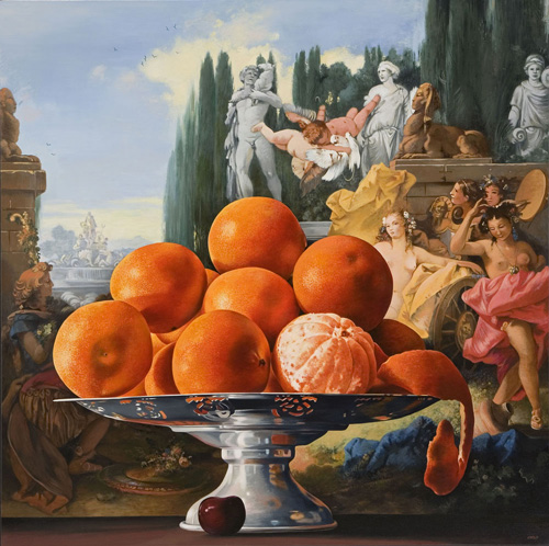 Oranges with Realm of Flora