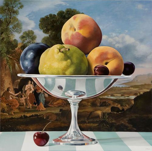 Still Life with Judgement of Paris