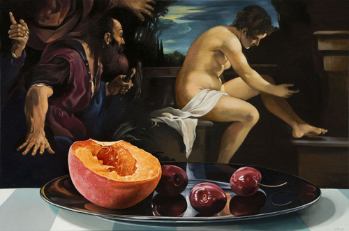 Still Life with Susanna and the Elders