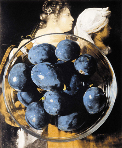 Bowl of Plums After Artemisia